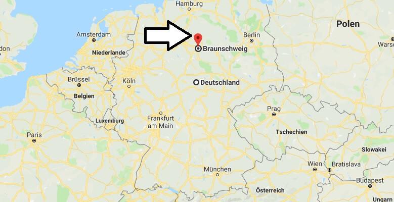 Wo liegt Braunschweig? Wo ist Braunschweig