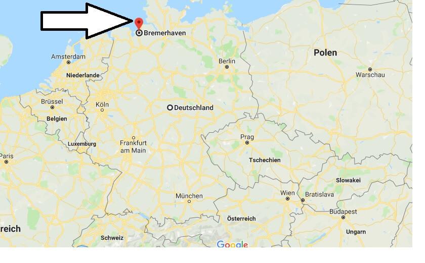 Wo liegt Bremerhaven? Wo ist Bremerhaven