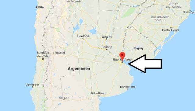 Wo liegt Buenos Aires? Wo ist Buenos Aires? in welchem land liegt Buenos Aires