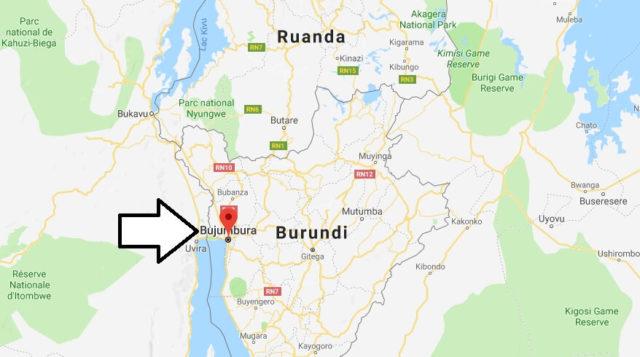 Wo liegt Bujumbura? Wo ist Bujumbura? in welchem land liegt Bujumbura