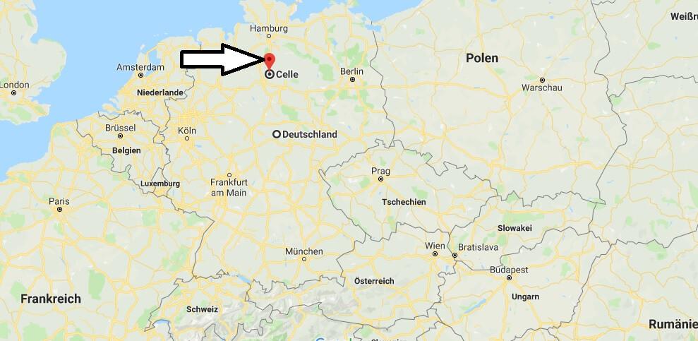 Wo liegt Celle? Wo ist Celle? in welchem Land