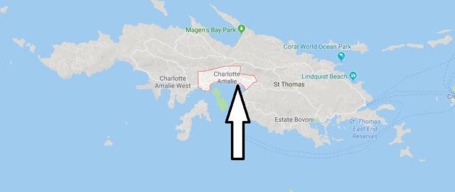Wo liegt Charlotte Amalie? Wo ist Charlotte Amalie? in welchem land liegt Charlotte Amalie?