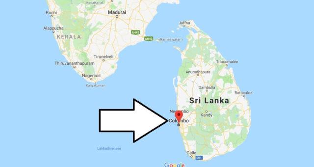 Wo liegt Colombo? Wo ist Colombo? in welchem land liegt Colombo