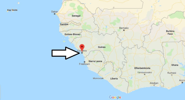 Wo liegt Conakry? Wo ist Conakry? in welchem land liegt Conakry