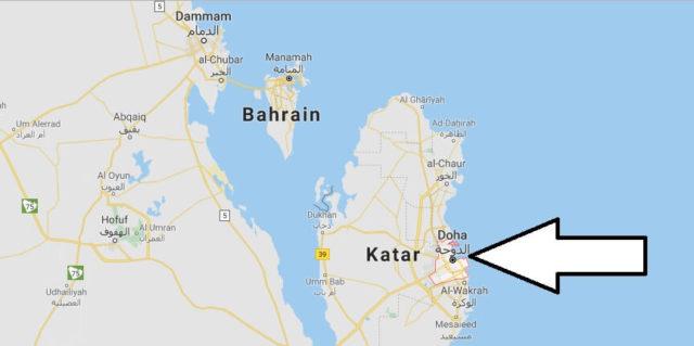 Wo liegt Doha? Wo ist Doha? in welchem land liegt Doha
