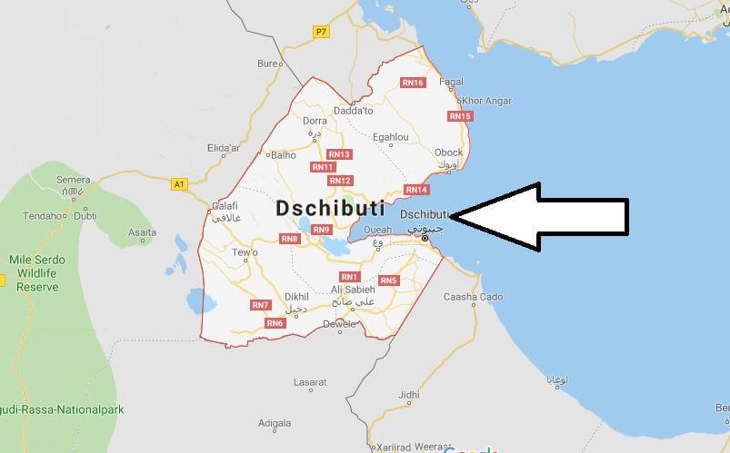 Wo liegt Dschibuti? Wo ist Dschibuti? in welchem land liegt Dschibuti