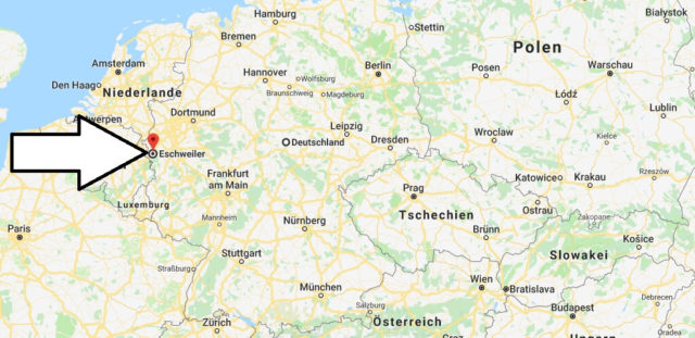 Wo liegt Eschweiler? Wo ist Eschweiler? in welchem Land