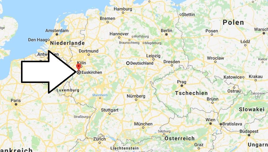Wo liegt Euskirchen? Wo ist Euskirchen? in welchem Land