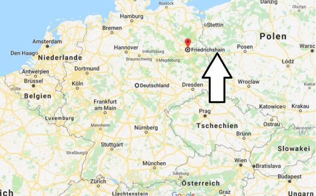 Wo liegt Friedrichshain? Wo ist Friedrichshain