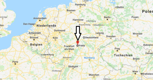 Wo liegt Fulda? Wo ist Fulda? in welchem Land