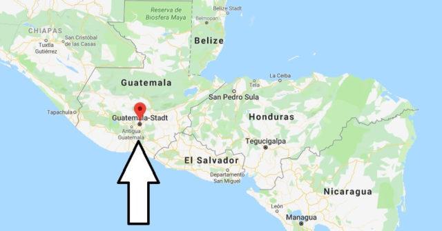 Wo liegt Guatemala-Stadt? Wo ist Guatemala-Stadt? in welchem land liegt Guatemala-Stadt
