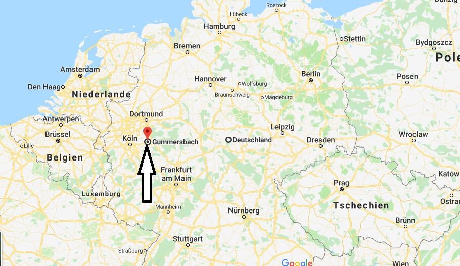 Wo liegt Gummersbach? Wo ist Gummersbach? in welchem Land