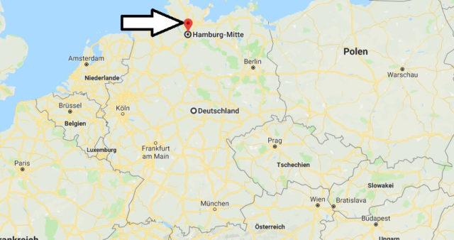 Wo liegt Hamburg-Mitte? Wo ist Hamburg-Mitte