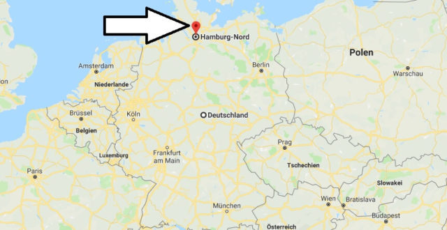 Wo liegt Hamburg-Nord? Wo ist Hamburg-Nord