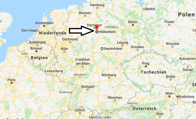 Wo liegt Hildesheim? Wo ist Hildesheim