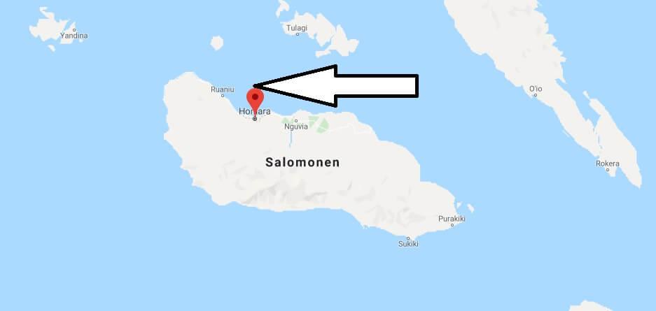 Wo liegt Honiara? Wo ist Honiara? in welchem land liegt Honiara