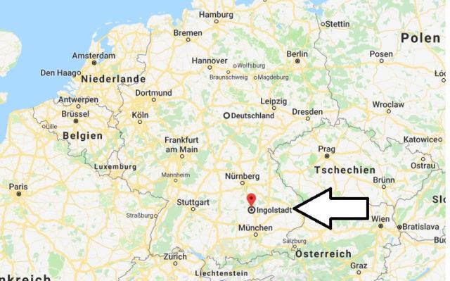 Wo liegt Ingolstadt? Wo ist Ingolstadt