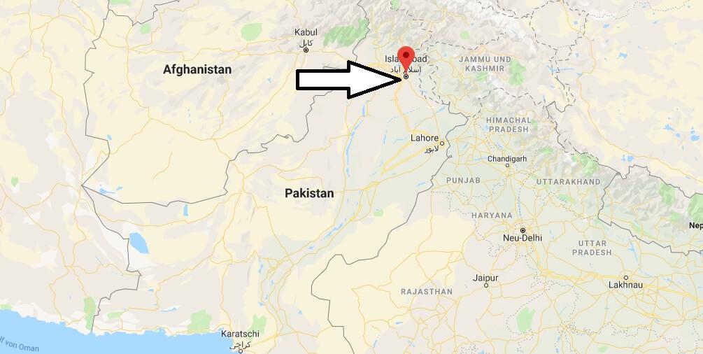 Wo liegt Islamabad? Wo ist Islamabad? in welchem land liegt Islamabad
