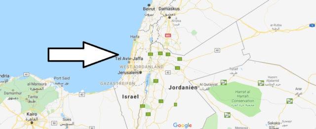 Wo liegt Israel? Wo ist Israel? in welchem Land? Welcher Kontinent ist Israel?