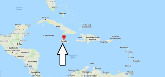 Wo liegt Jamaika? Wo ist Jamaika? in welchem Land? Welcher Kontinent ist Jamaika?