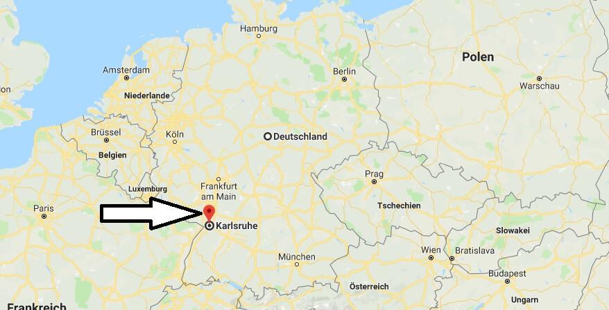 Wo Liegt Karlsruhe