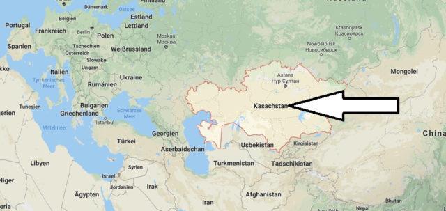 Wo liegt Kasachstan? Wo ist Kasachstan? in welchem Land? Welcher Kontinent ist Kasachstan?