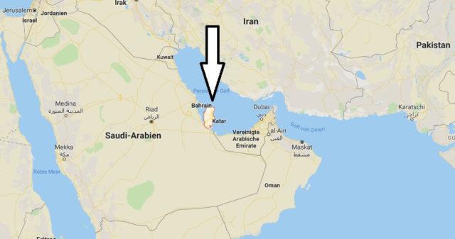 Wo liegt Katar? Wo ist Katar? in welchem Land? Welcher Kontinent ist Katar?