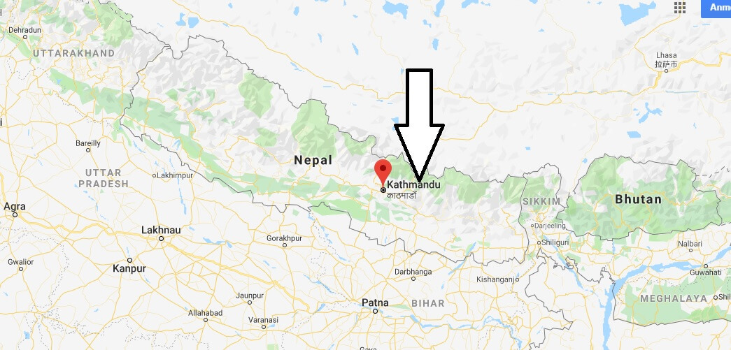 Wo liegt Kathmandu? Wo ist Kathmandu? in welchem land liegt Kathmandu