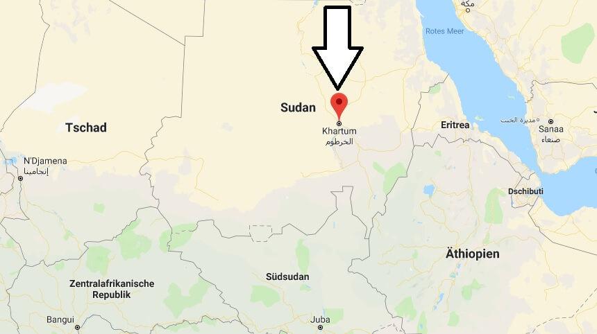 Wo liegt Khartum? Wo ist Khartum? in welchem land liegt Khartum