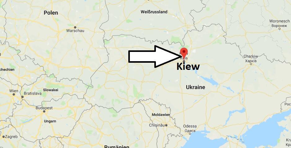 Wo liegt Kiew? Wo ist Kiew? in welchem land liegt Kiew