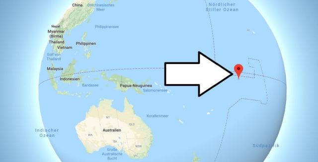 Wo liegt Kiribati? Wo ist Kiribati? in welchem Land? Welcher Kontinent ist Kiribati?