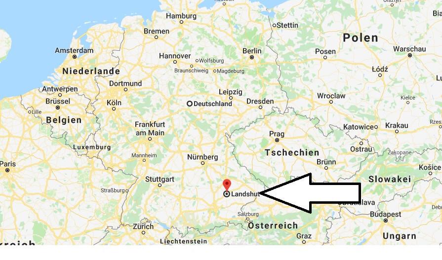 Wo liegt Landshut? Wo ist Landshut? in welchem Land