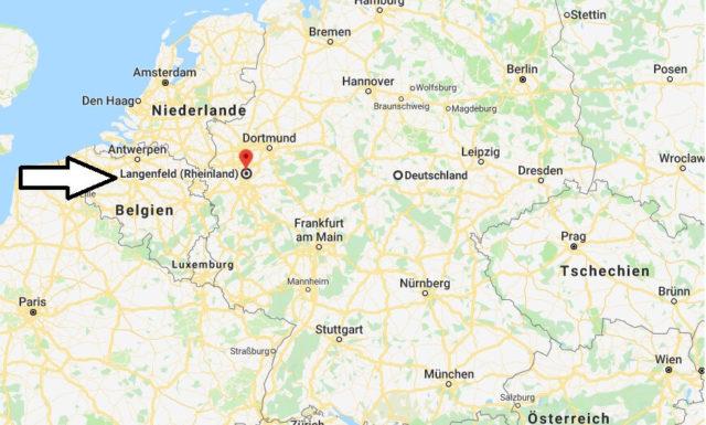 Wo liegt Langenfeld (Rheinland)? Wo ist Langenfeld (Rheinland)? in welchem Land