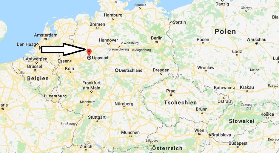 Wo liegt Lippstadt? Wo ist Lippstadt? in welchem Land