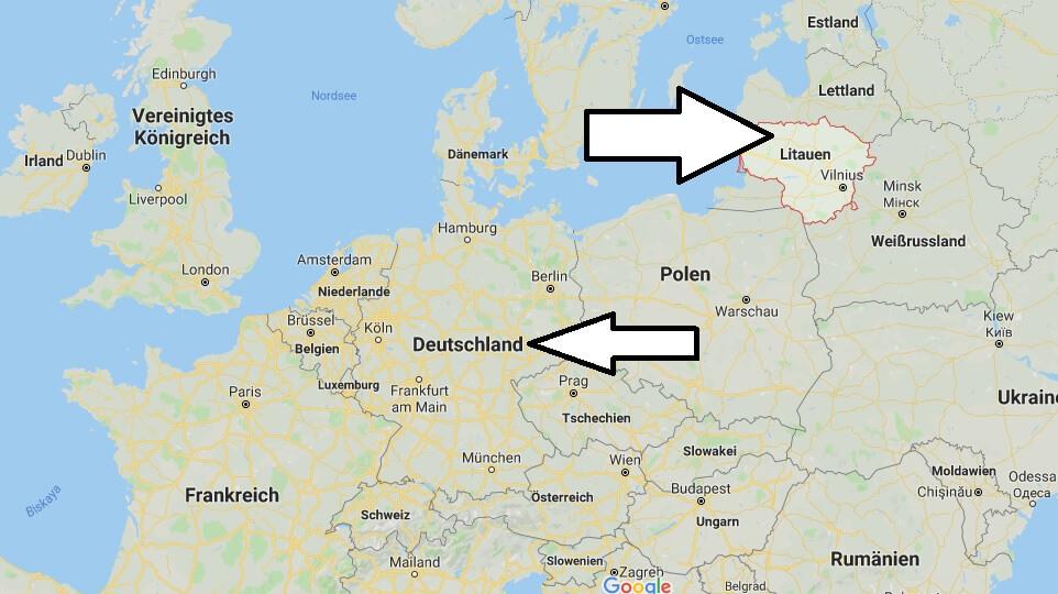 Wo liegt Litauen? Wo ist Litauen? in welchem Land? Welcher Kontinent ist Litauen?