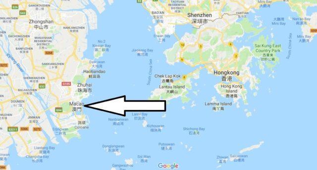 Wo liegt Macau? Wo ist Macau? in welchem Land? Welcher Kontinent ist Macau?