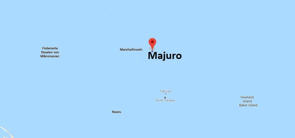 Wo liegt Majuro? Wo ist Majuro? in welchem land liegt Majuro