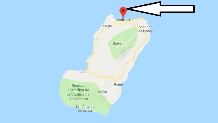 Wo liegt Malabo? Wo ist Malabo? in welchem land liegt Malabo