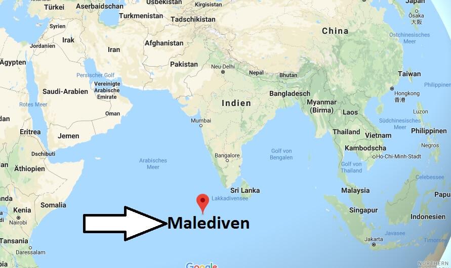 Wo liegt Malediven? Wo ist Malediven? in welchem Land? Welcher Kontinent ist Malediven?