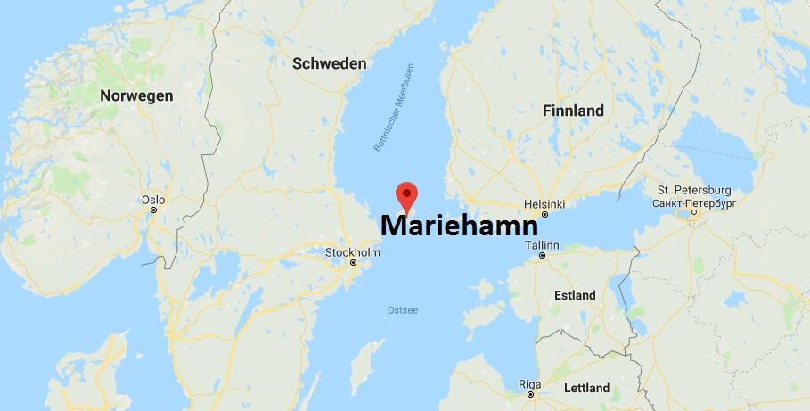 Wo liegt Mariehamn? Wo ist Mariehamn? in welchem land liegt Mariehamn?