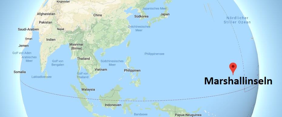 Wo liegt Marshallinseln? Wo ist Marshallinseln? in welchem Land? Welcher Kontinent ist Marshallinseln?