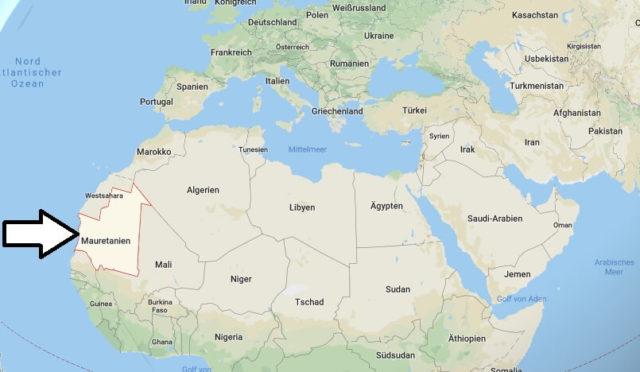 Wo liegt Mauretanien? Wo ist Mauretanien? in welchem Land? Welcher Kontinent ist Mauretanien?