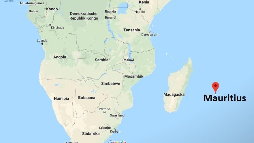 Wo liegt Mauritius? Wo ist Mauritius? in welchem Land? Welcher Kontinent ist Mauritius?