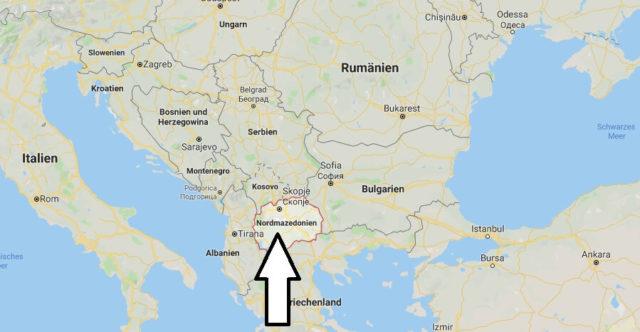 Wo liegt Mazedonien? Wo ist Mazedonien? in welchem Land? Welcher Kontinent ist Mazedonien?