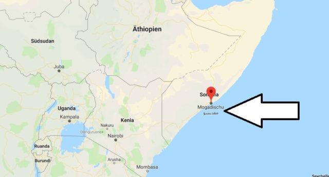 Wo liegt Mogadischu? Wo ist Mogadischu? in welchem land liegt Mogadischu