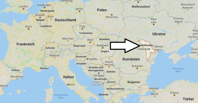 Wo liegt Moldau? Wo ist Moldau? in welchem Land? Welcher Kontinent ist Moldau?