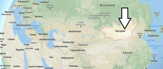 Wo liegt Mongolei? Wo ist Mongolei? in welchem Land? Welcher Kontinent ist Mongolei?