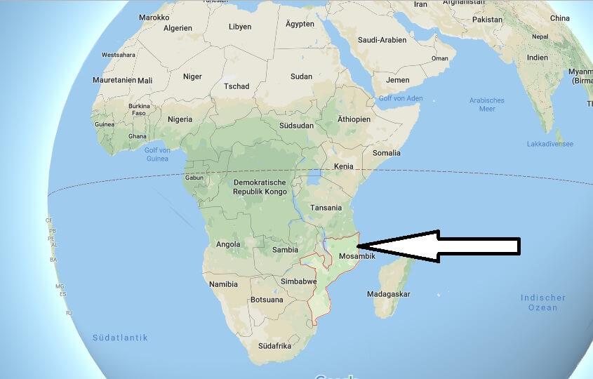 Wo liegt Mosambik? Wo ist Mosambik? in welchem Land? Welcher Kontinent ist Mosambik?