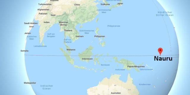 Wo liegt Nauru? Wo ist Nauru? in welchem Land? Welcher Kontinent ist Nauru?