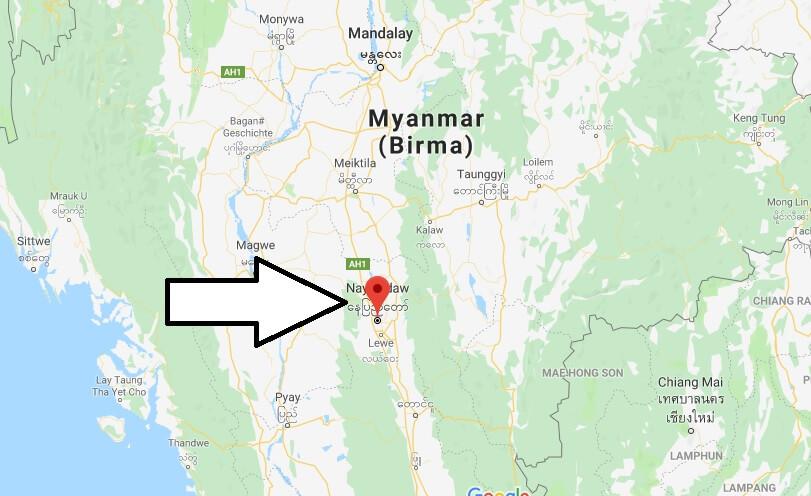 Wo liegt Naypyidaw? Wo ist Naypyidaw? in welchem land liegt Naypyidaw